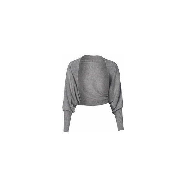 Batwing Shrug ❤ liked on Polyvore featuring tops, cardigans, jackets, sweaters, bolero, batwing cardigan, shrug cardigan, batwing tops, shrug top and cardigan shrug