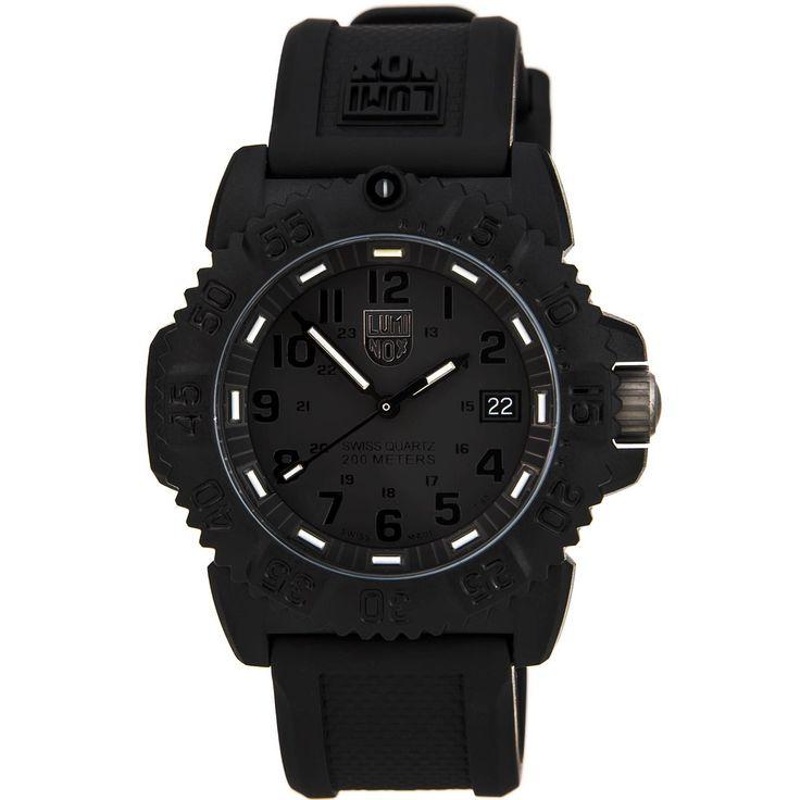 Luminox 7051 Blackout Women's Navy SEAL Colormark Dive Watch