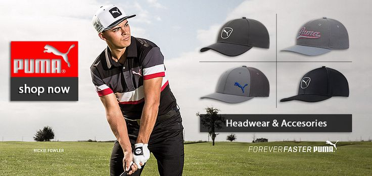 Fancaps.com.au Have all your Puma and Cobra Golf Headwear. Swing by and shop!