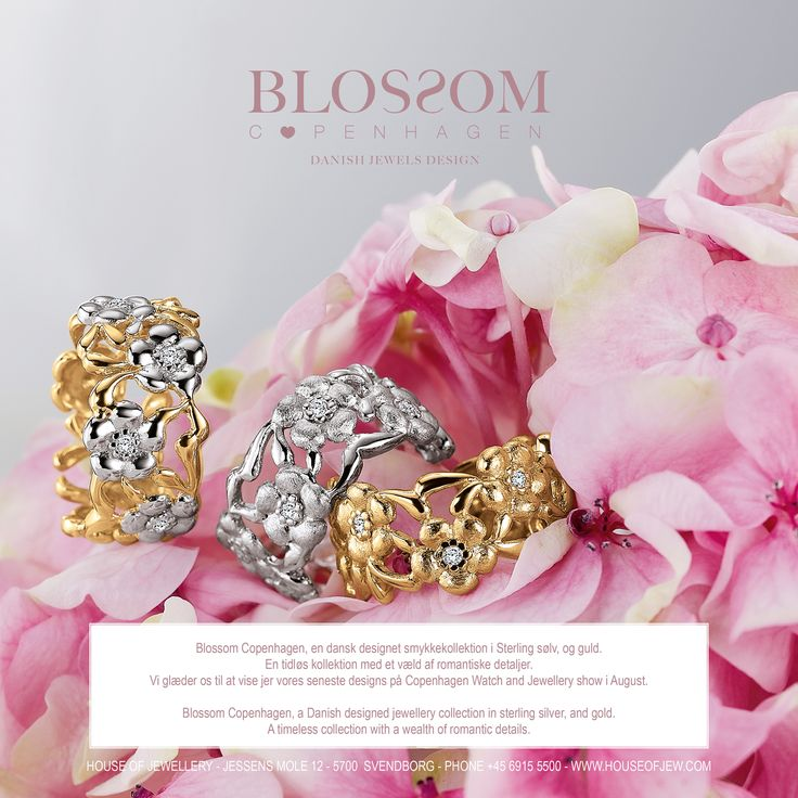 www.blossomcopenhagen.com or www.houseofjew.com - a danish jewellery collection designed by Christina Elbro Lihn - Show your love and let it Blossom.....