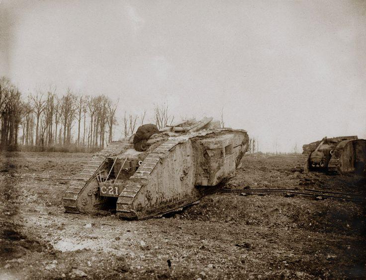 Mark ii tanks c battalion battle of arras 1917 ww1 tank pinterest stridsvagnar - Point p arras ...