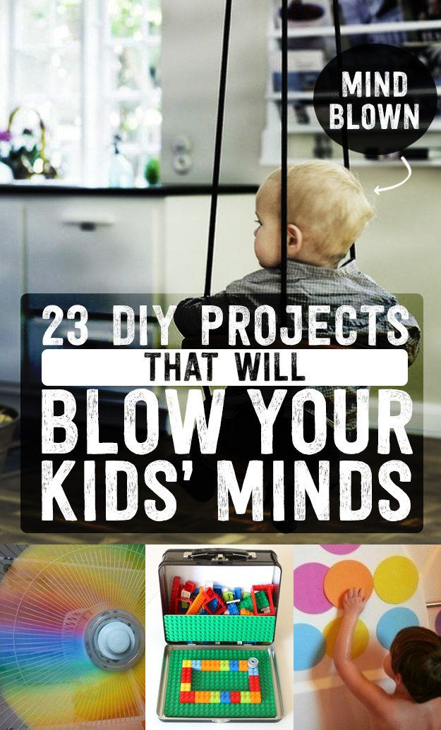23 DIY Projects That Will Blow Your Kids' Minds