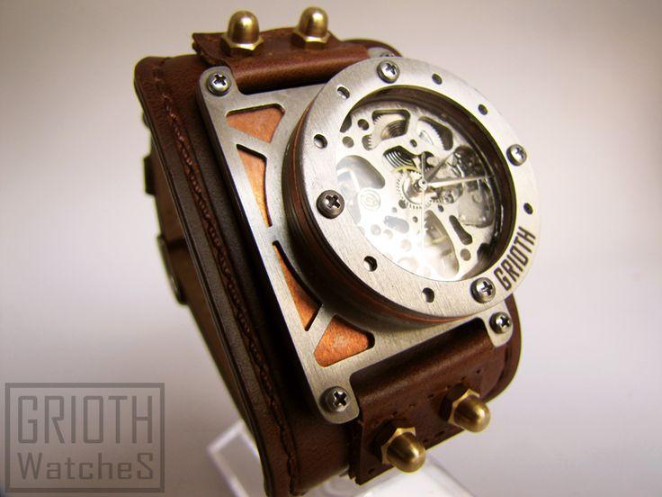 Steampunk Industrial watch by GRIOTH