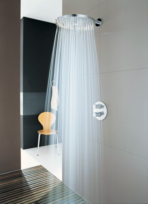 Grohe | Grohe Rainshower Jumbo Head ~ http://walkinshowers.org/6-incredible-rainfall-shower-head-examples.html