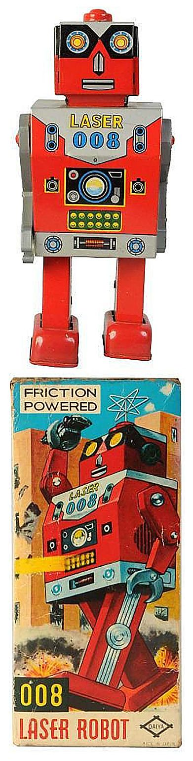 Laser Robot 008 ~ Friction Powered