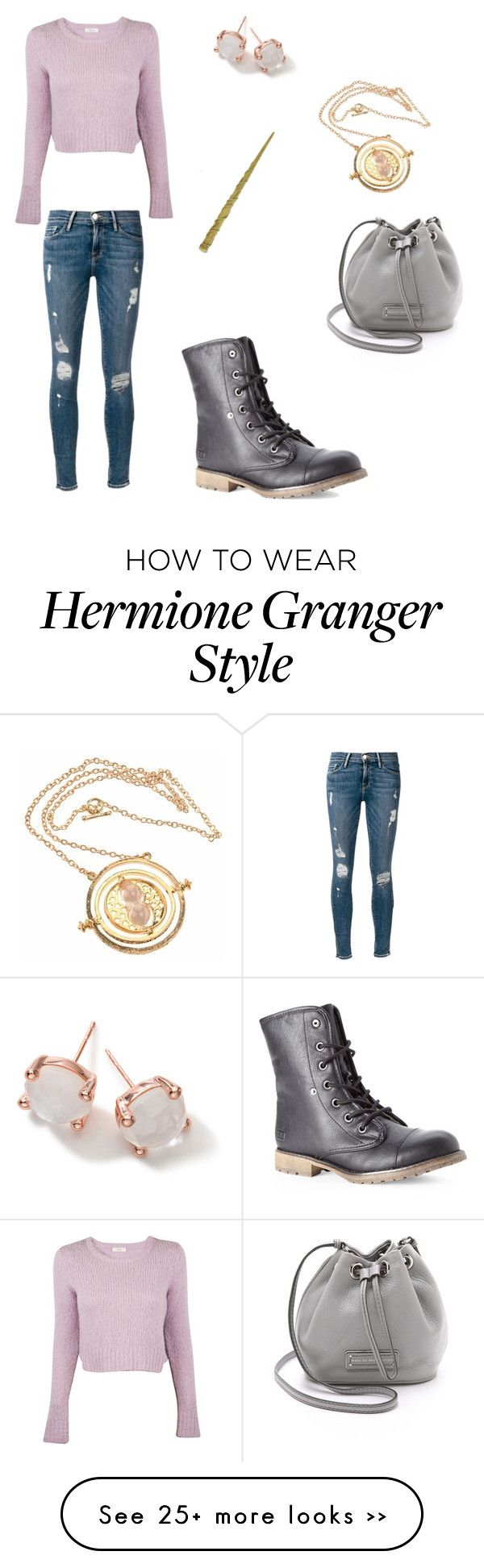 """""""Hermione Granger"""" by cecibo on Polyvore"""