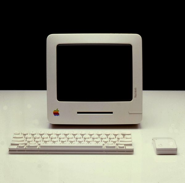 """My first computer in the mid-80's - when it came on it said """"Welcome to Macintosh"""""""