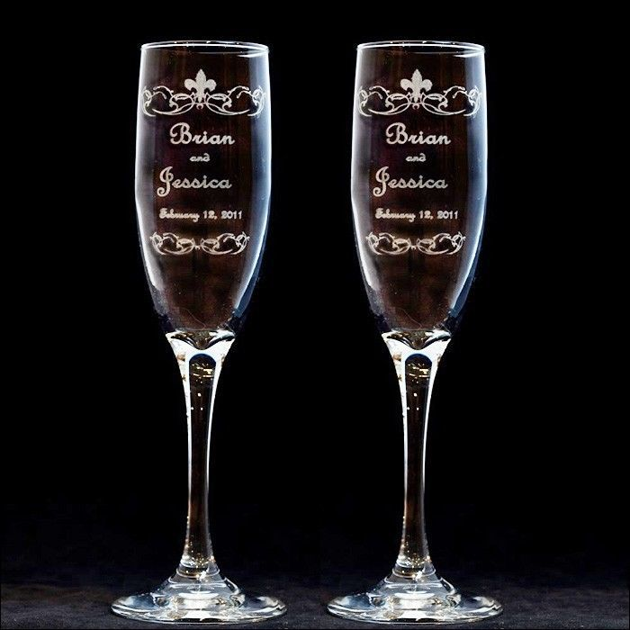 1000 Ideas About Engraved Champagne Flutes On Pinterest Wedding Toasting G
