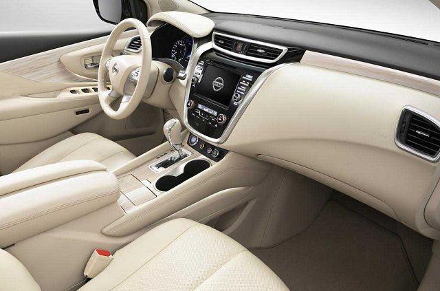 2016 Nissan Rogue #white Interior