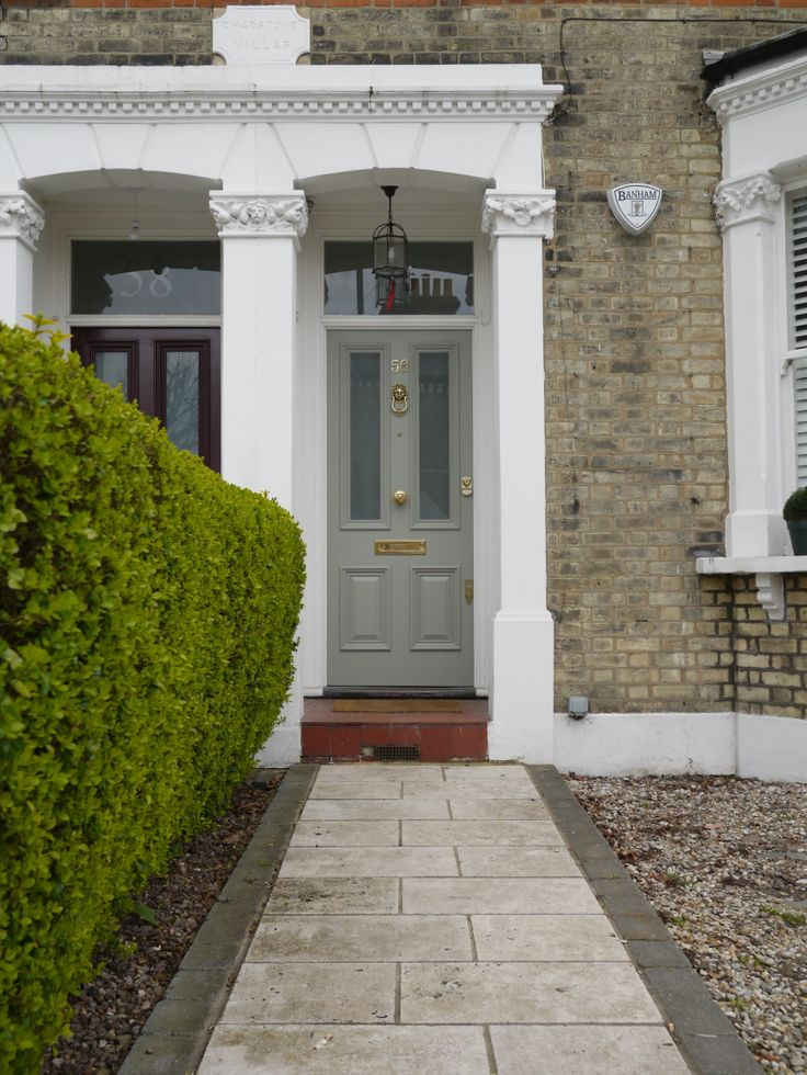The London Door Company - Front Door Richmond, Surrey - Farrow and Ball