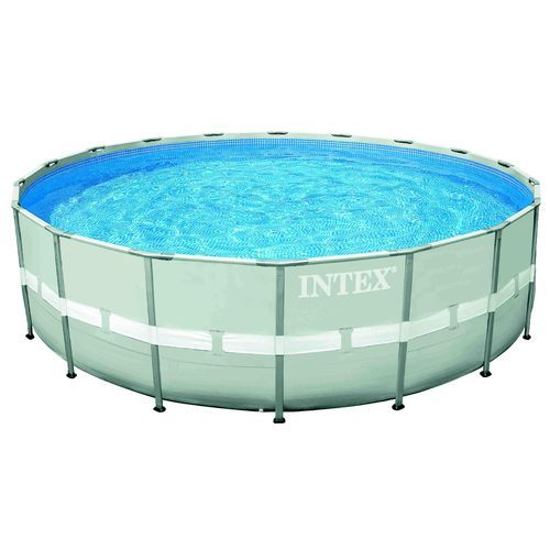 Intex 18 ft x 48 in Ultra Frame Round Pool Set Multi - Water Sports, Pools Chemicals at Academy Sports