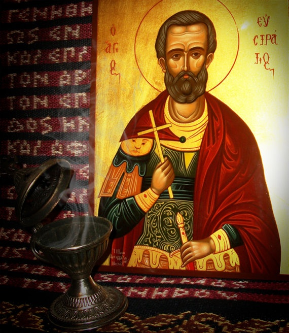 Icon Painting with egg tempera wood and gold 22 by iconspainter, €290.00
