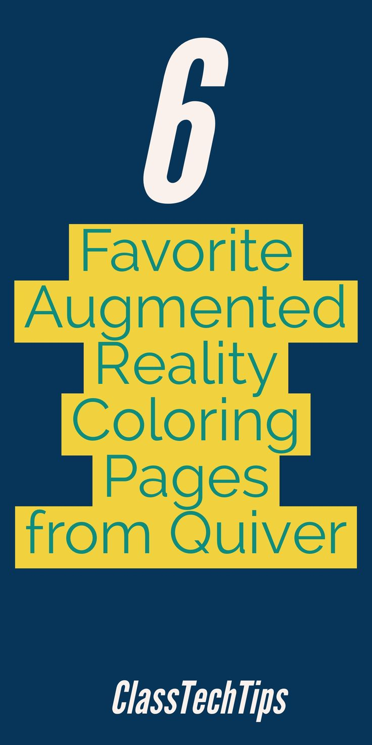 Quiver free coloring pages - 6 Favorite Augmented Reality Coloring Pages From Quiver