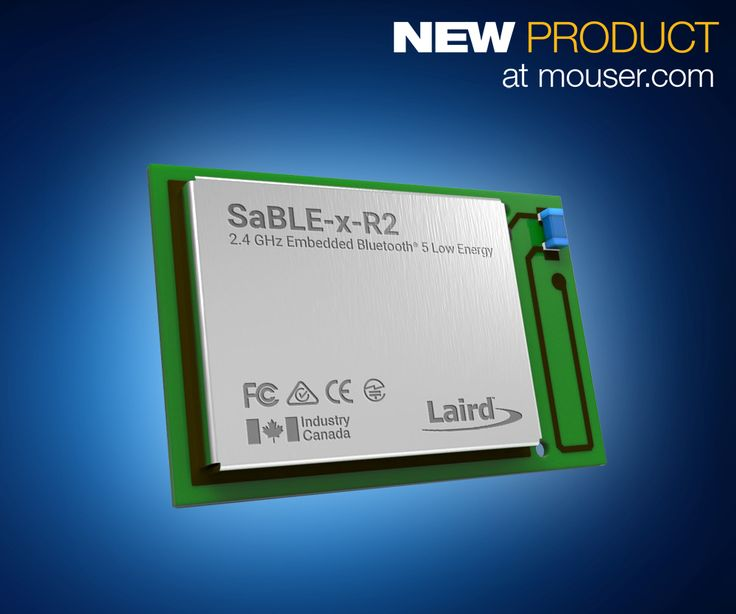 Mouser Electronics, Inc., the industry's leading New Product Introduction (NPI) distributor with the widest selection of semiconductors and electronic components, is now stocking the SaBLE-x-R2 Bluetooth® 5 module from Laird Technologies. The SaBLE-x-R2 module builds on the original field-proven hardware of the SaBLE-x module to accelerate the development time for implementing cutting-edge Bluetooth low energy …
