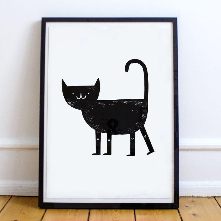 Czarny kot. Susi Hammer