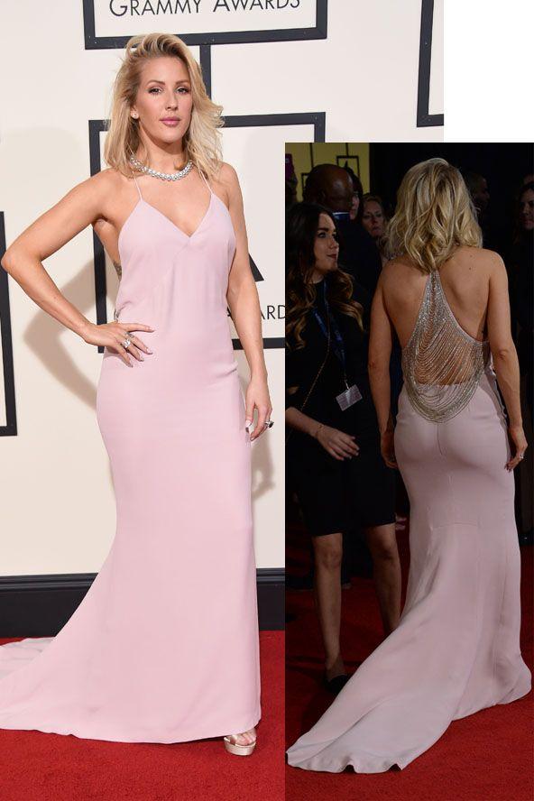 Az angol popsztár gyönyörű volt a vörös szőnyegen. Ellie Goulding in a Stella McCartney dress