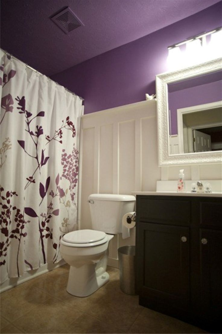 Purple bathroom color ideas - Bathroom Paint Colors