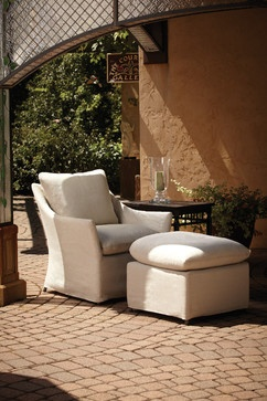 Lloyd Flanders Sea Island Lounge Chair eclectic outdoor chairs