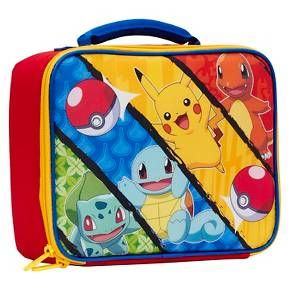 Pokemon Lunch Box - Blue/Yellow : Target.  $8.