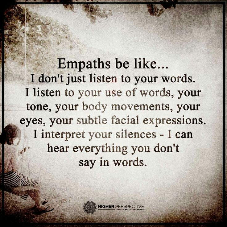 Empaths be like...trust me. Ummmm...NO! And you know why but so did I!!!