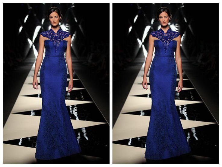 Woman's Exquisite Special Separate Shoulder Long Length Mermaid Evening Dresses | Buy Wholesale On Line Direct from China