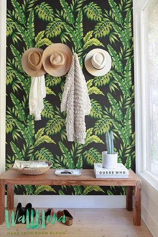 Upgrade boring walls with removable wallpaper that is renter friendly and reusable | 19 Cheap Ways To Upgrade The Things You Already Own