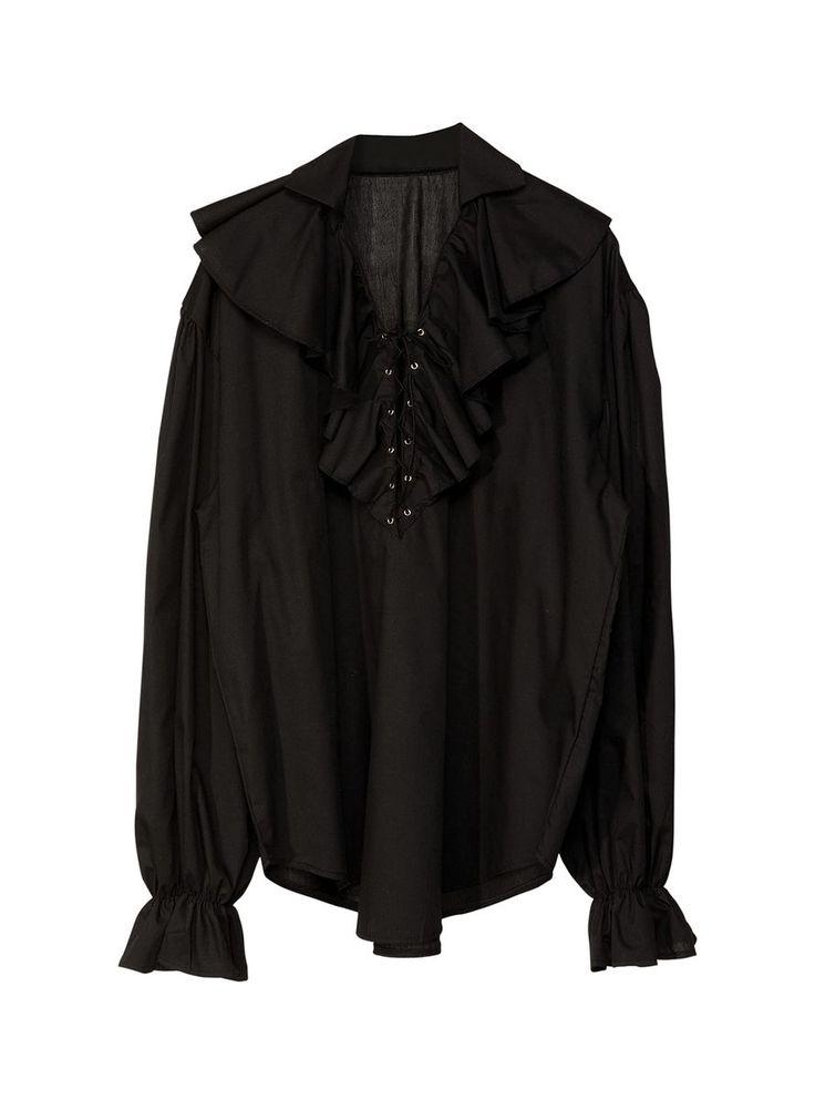Camisa negra para disfraz de pirata | Comprar online