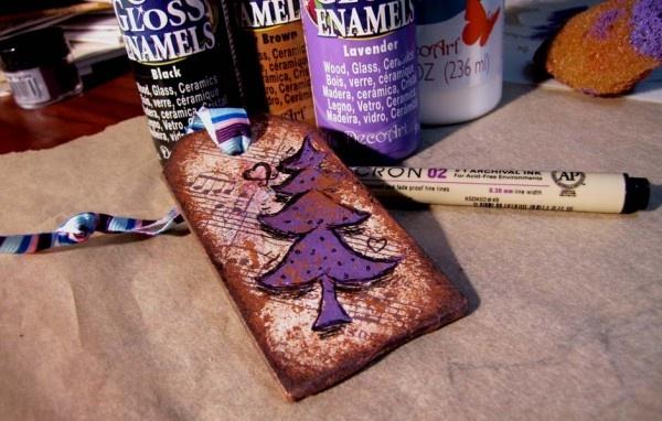 Custom Present tags: Tags, Presents, Custom, Crafts