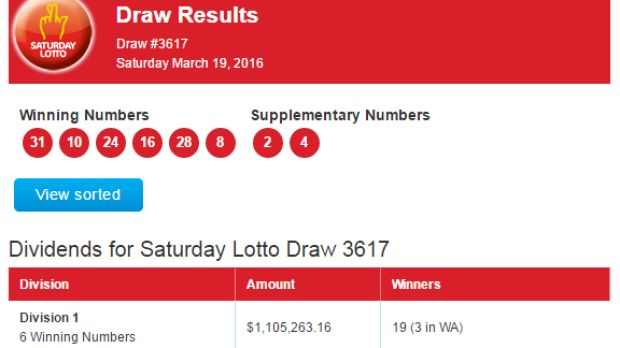 Saturday Lotto Superdraw: three WA millionaires as $21 million...: Saturday Lotto Superdraw: three WA millionaires as $21… #SaturdayLotto