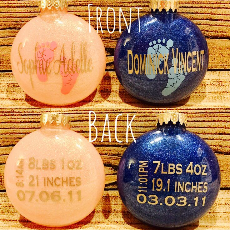 Birth Stat Christmas Ornament // Baby's First Christmas // Glitter Ornament // Keepsake Ornaments // Children's Keepsake Ornament by FazioDesigns on Etsy https://www.etsy.com/listing/490745559/birth-stat-christmas-ornament-babys