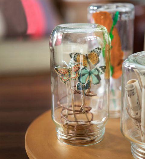 Craft Ideas Empty Jam Jars: How To Make A Jam Jar Museum