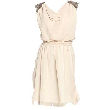 Kleid mit Pailletten - Yessica
