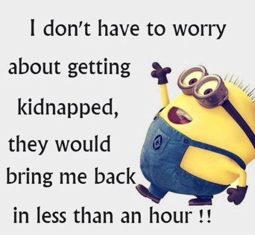 no one wants me even kidnappers...