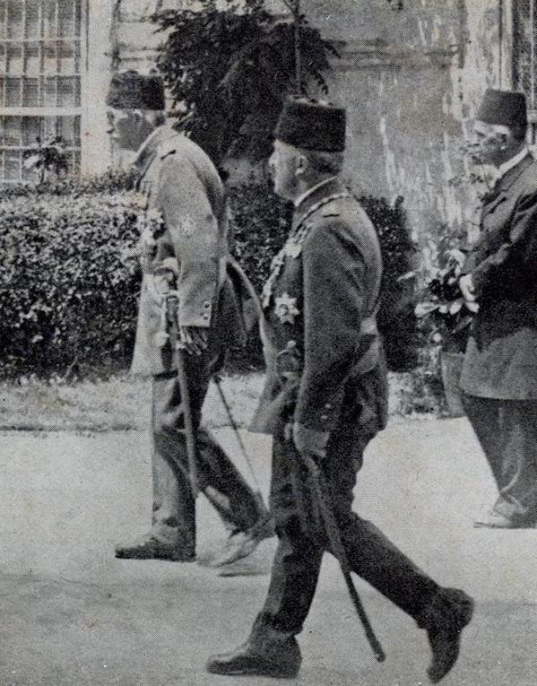 A Rare Photo of Last Ottoman Sultan Mehmed VI (Reign; 1918-1922) (Sultan Vahdeddin Nadir Bir Fotosu)