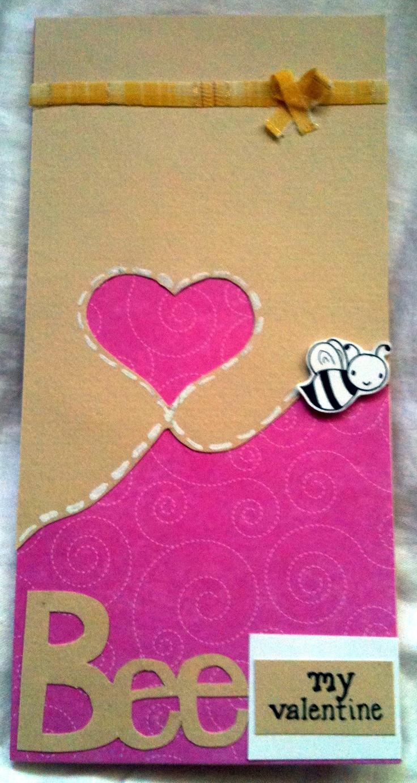 Bee my valentine: Valentine