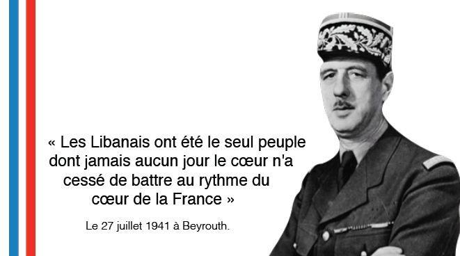Charles De Gaulle citation #Quotes #18juin2015 #Liban #Appel18juin #commémoration #AmitiéLibanoFrançaise #histoire #CharlesdeGaulle