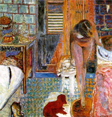 Пьер Боннар. «Туалет». 1932 г.