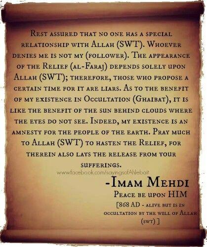 15 best Imam Mahdi ima...