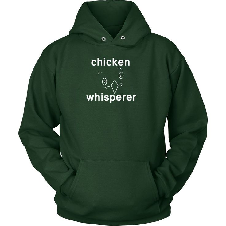 The Chicken Whisperer Hoodie with cute Chicken