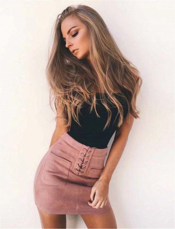 Ophelia Skirt (Khaki, Pink, Yellow)