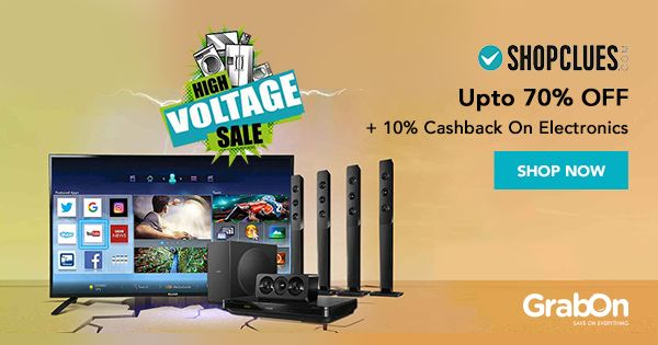 We've got the #IPL for high voltage matches, and #ShopClues for High Voltage Sale on #electronics!   #sale #india