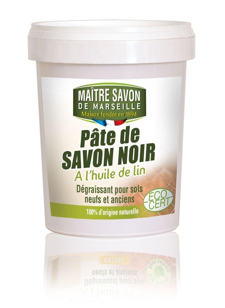 Pâte de savon noir 1Kg Maître savon de Marseille