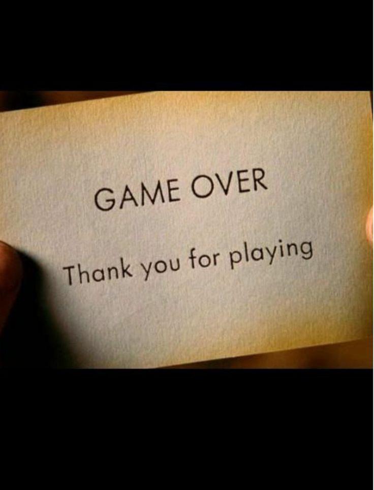 Dura in eterno la realtà..i giochi prima o poi finiscono sempre...questa è la vita ...