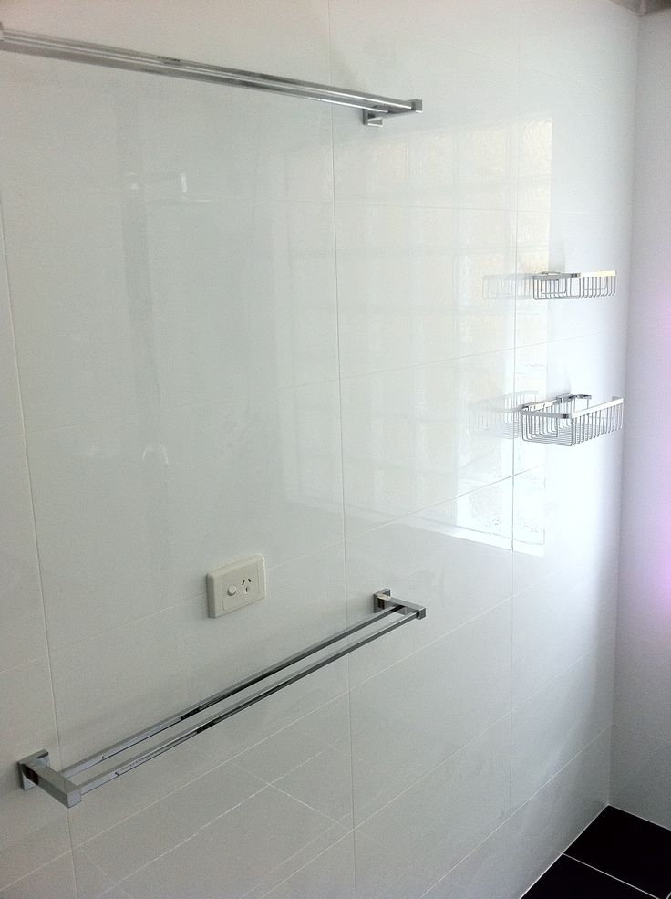Square Double Towel Rail  - Bathroom - Renovation - Perth - On the Ball Bathrooms