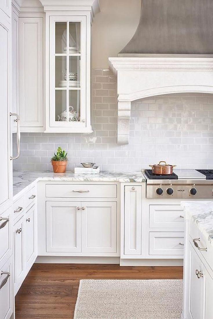incredible kitchen cabinet backsplash ideas | 31 Amazing White Kitchen Backsplash Ideas in 2019 ...