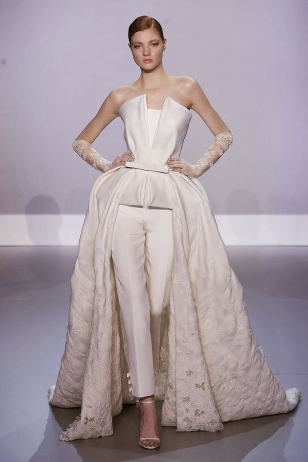Cool And The Bride Wore The Trousers Couture CollectionLingerie CollectionDress CollectionBridal