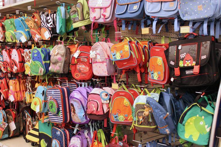 Collectie rugzakken. #backtoschool