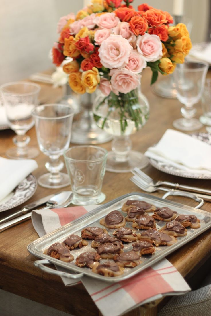 Jenny Steffens Hobick: Homemade Pecan, Salted Caramel & Chocolate Turtle Puddles   Grown-Up Valentines