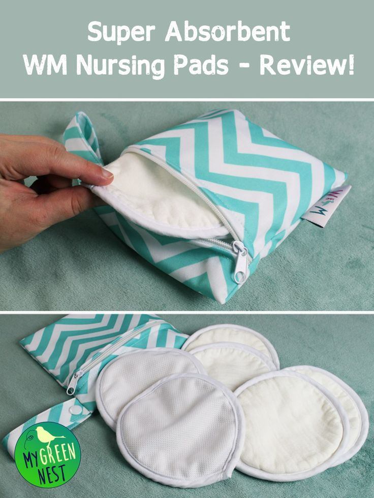 Are you looking for nursing pads that will do the job and keep you from getting completely soaked? Check out my review of these awesome WM Nursing Pads! #NursingPads #Breastfeeding http://MyGreenNest.com *PIN NOW, READ LATER!