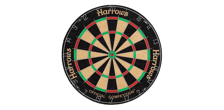 Official competetion darts board